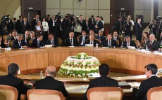 Participation in the meeting of CIS Heads of State Council in an expanded format
