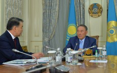 Meeting with the Supreme Court Chairman Kairat Mami