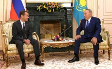 Meeting with Dmitry Medvedev, Chairman of the Government of the Russian Federation
