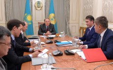 Meeting with Shigeo Katsu, President of Nazarbayev University AEO