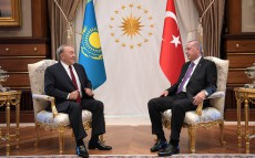 Meeting with the President of Turkey Recep Tayyip Erdogan