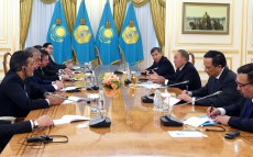 Meeting with heads of delegations for negotiations on the Syrian conflict settlement in Astana